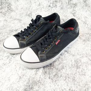 Levi's Black Denim Sneaker